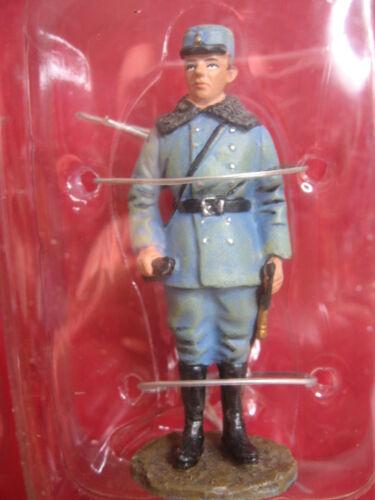 FIGURINE HACHETTE  SOLDATS DE1914 1918 14-18 # 4B OFFICIER CAVALERIE AUTRICHIEN