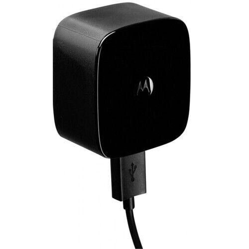 New Official Motorola Turbo Charger & Cable UK Black Fast Charger For All Moto X