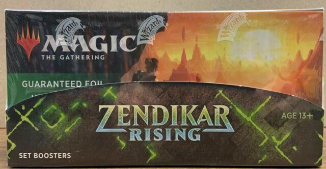 Magic The Gathering Zendikar Rising Set Booster Box IN STOCK FREE PRIORITY SHIP