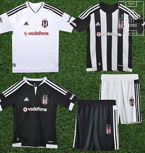 Détails sur Adidas Besiktas ShirtShort HomeAwayThird football Garçon Toutes Tailles afficher le titre d'origine