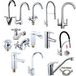 Groovy Details About Bathroom Taps Deck Waterfall Tap Sets Basin Mono Brass Bath Filler Mixer Faucet Home Interior And Landscaping Eliaenasavecom