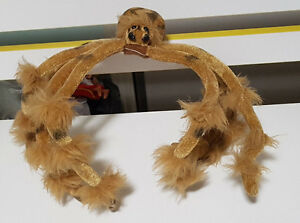 HAND-MADE-SPIDER-POSABLE-PLUSH-TOY-SOFT-TOY-21CM-TALL