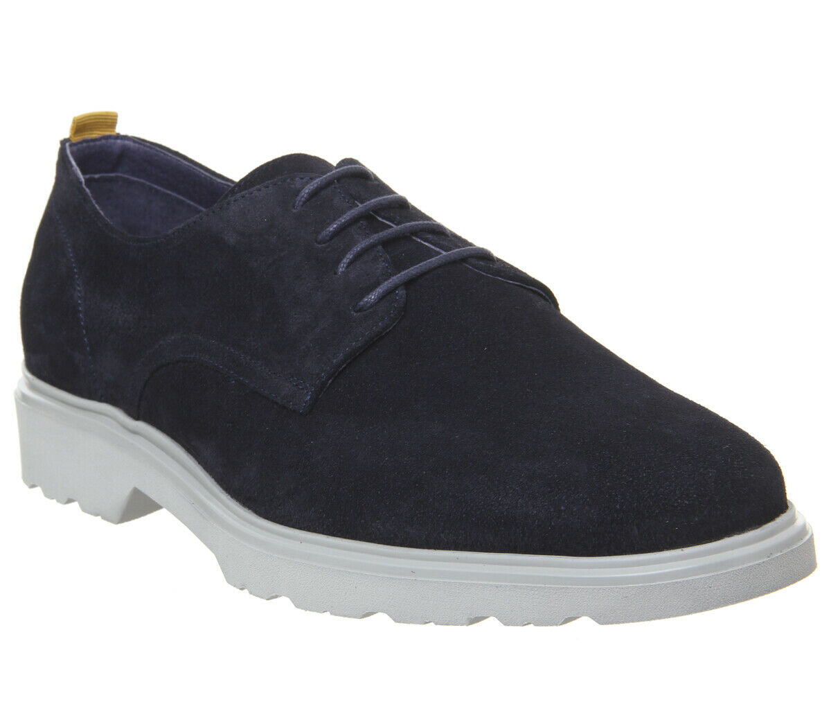 Mens Ask The Missus Lightweight Derby shoes Navy Suede Casual shoes