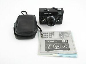Rollei-35-T-Kompaktkamera-compact-camera-Tessar3-5-40-Tasche-case