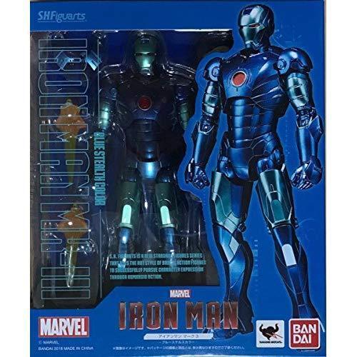 SH S.H. Figuarts Iron Man Mark 3 Blau Stealth Farbe Figure Bandai Limited NEW