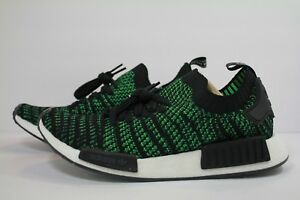 timeless design 18b4a 83c4c Details about ADIDAS NMD_R1 STLT PK NOBLE GREEN / CORE BLACK / BOLD GREEN  AQ0936
