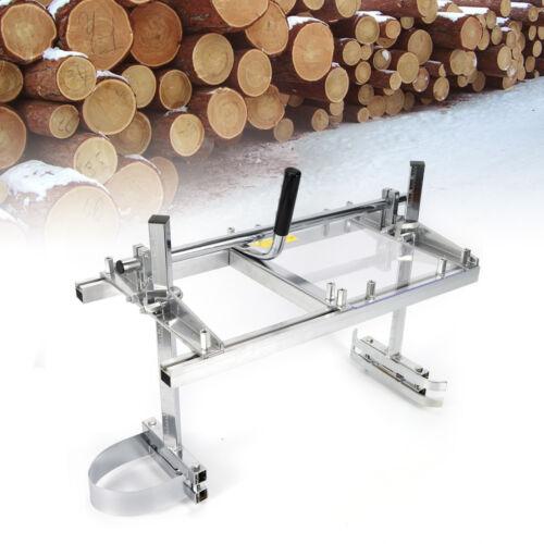 """Mobile Tragbar Sägewerk Holz Sägehilfe für Motorsäge Kettensäge 14/"""" bis 24/"""" DHL"""