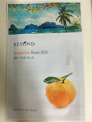 1 SHEET BEYOND TANGERIN FROM JEJU MASK PACK - BRIGHT & GLOW