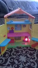Dora the Explorer Seasons Window Surprises Talking Dollhouse Fisher Price House