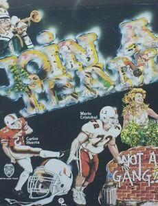 1991 Miami Hurricanes JOIN A TEAM Football MIAMI DADE POLICE Florida Poster Art
