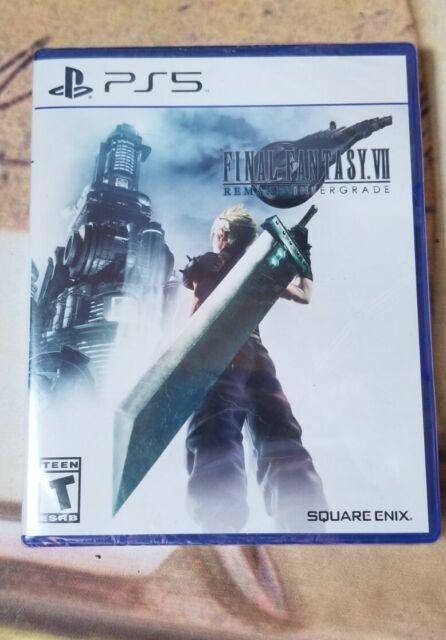 (Brand New Sealed) Final Fantasy 7 VII Remake Intergrade PlayStation 5 PS5 2021