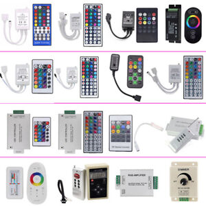 RF-IR-LED-Remote-Controller-Amplifiers-Dimmer-for-RGB-3528-5050-LED-Strip-Light