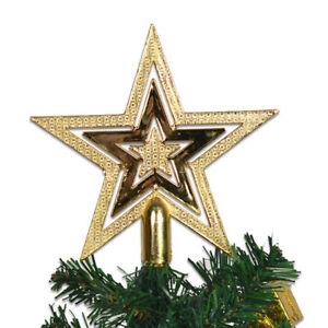 Weihnachtsbaumspitze STERN Baumspitze Weihnachtsbaum Christbaum Weihnachten NEU