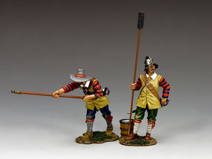 King & Country Royalist Gunners Set A PnM037