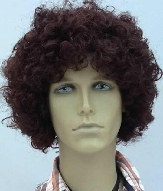 Brown Wavy Middle Parting Fancy Dress Wig . UK Next Day DISPATCH  73034bc72fbd