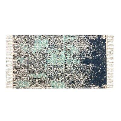 Aggressivo Tappeto Blu Da Home Interiors 70 Cm X 120 Cm-mostra Il Titolo Originale Dolcezza Gradevole