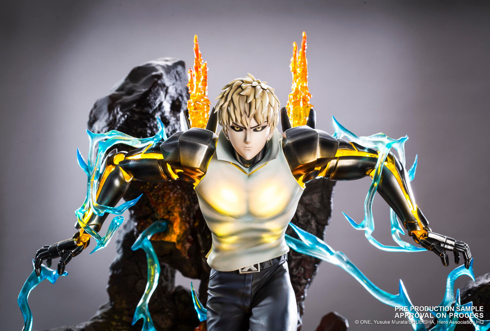 Statue HQS Genos by Tsume One Punch Man OPM (no xceed, Ryu studio or vkh)