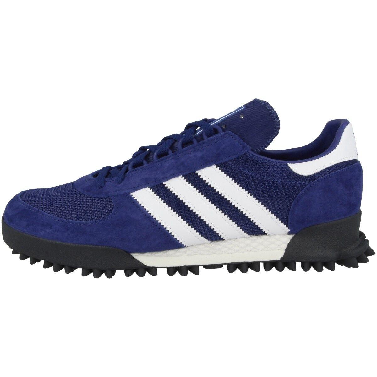 ADIDAS Marathon tr Scarpe Originals scarpe da ginnastica Scarpe Da Corsa Uomo blu bianca b37443