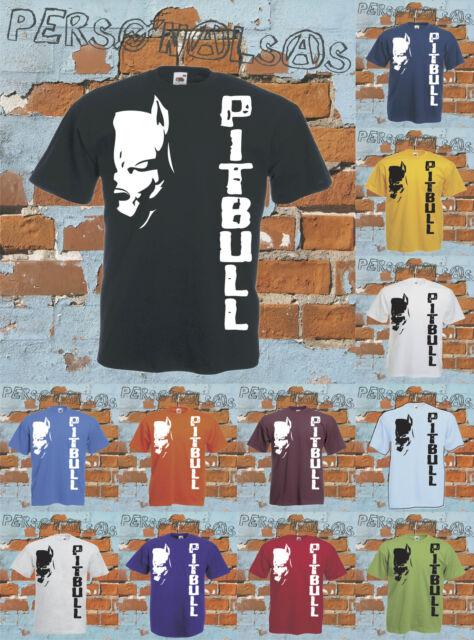 PITBULL t-shirt music strange love animal dog style