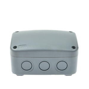 WEATHERPROOF PVC OUTDOOR INDUSTRIAL WATERPROOF JUNCTION BOX ...