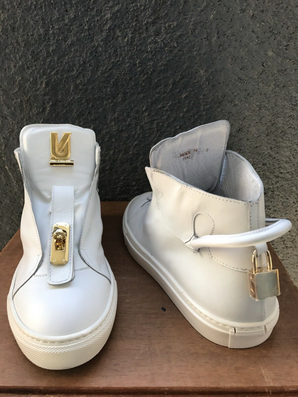 Made in Italy Urban Legend and Mauri Shoes Sneakers new in box.
