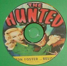 FILM NOIR 285: THE HUNTED 1948 Jack Bernhard, Preston Foster, Belita