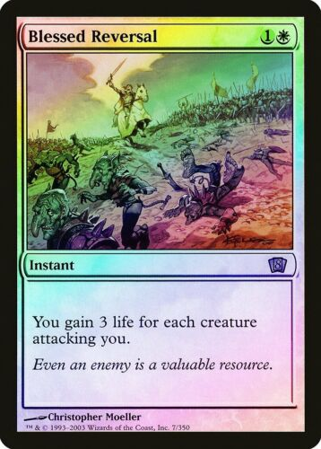 Blessed Reversal FOIL 8th Edition PLD White Rare MAGIC MTG CARD ABUGames