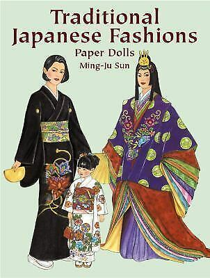 Dover Paper Dolls Traditional Japanese Fashions By Ming Ju Sun