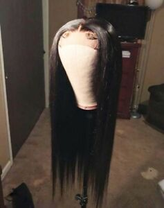 Brazilian-Silk-Straight-Human-Hair-Wig-Lace-Front-Wigs-Virgin-Full-Lace-Wig-Soft