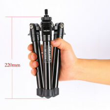 Small short Desktop Tripod Monopod Base foot Travel For DSLR Camera Light M122A