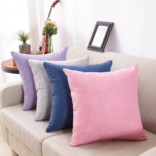 Simple Fashion Throw Pillow Cases CAFE Canapé Housse de coussin décor taie d/'oreiller L