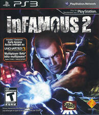 Infamous 2 PS3 Great Condition Complete Fast Shipping