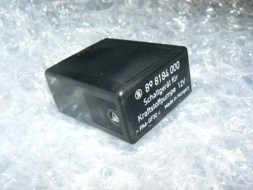 MERCEDES SL Fuel Pump Relay W107 560sl 560 898184000 sel sec 126 420