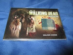 WALKING-DEAD-Walker-Horder-Wardrobe-Card-SIGNED-Michael-Koske-M31-2012-AMC-TV