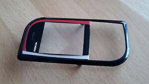 NEUE-amp-ORIGINALE-Frontschale-Frontcover-Nokia-7610-in-SCHWARZ-ROT