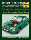 Mercedes-Benz C-Class Petrol & Diesel Service and Repair Manual by Haynes Publishing Group (Paperback, 2014)