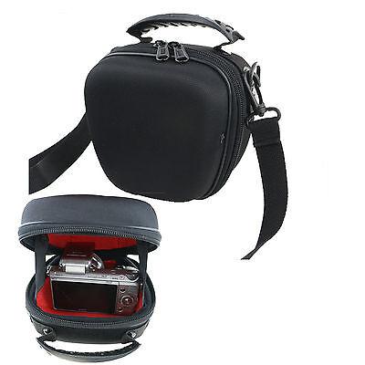 Nylon Shoulder Waist Case Bag For PANASONIC Lumix DC-TZ200EB-S,DMC-LX100EBK