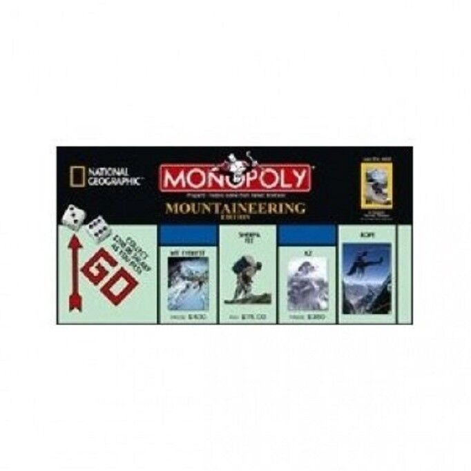 Monopoly NATIONAL GEOGRAPHIC GEOGRAPHIC GEOGRAPHIC MOUNTAINEERING Edition 437c4b