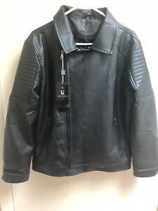 3ecee6a9365 Elegant Luxury VG Black WORLD COLLECTION Medium Men s Vegan Leather ...