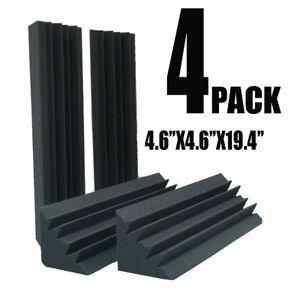 4pcs-4-7-x-4-7-x-18-8-034-Corner-Bass-Trap-Studio-Soundproofing-Sound-Absorbing-Foam