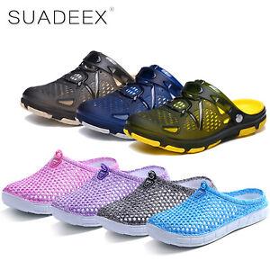 SUADEEX-Uomo-Donna-Sandali-scarpe-da-mare-Ciabatte-Pantofole-estate-Piscina-Mare