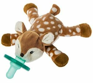 Mary-Meyer-WubbaNub-Infant-Newborn-Baby-Soothie-Pacifier-Amber-Fawn