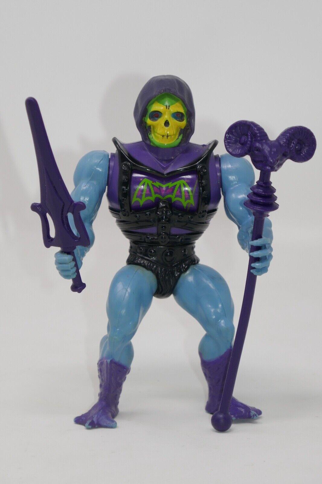 Mattel 1984 He-Man Masters of the Universe MOTU Skeletor Action Figure COMPLETE