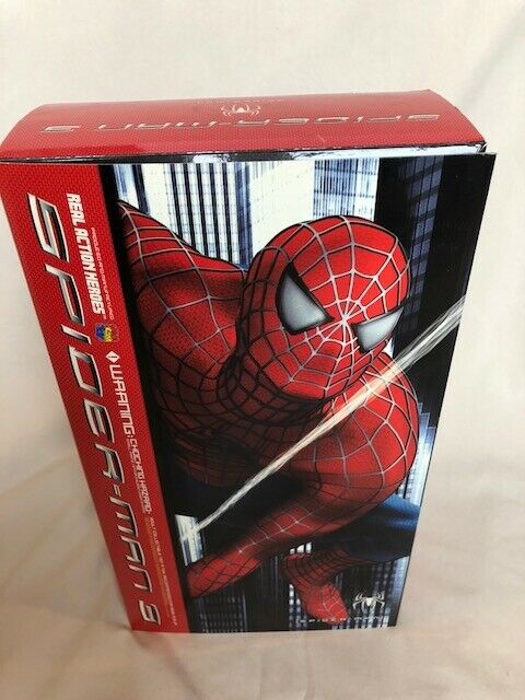 Spider-Man 3 Medicom RAH Real Action Heroes 1 6 Scale 12  Figure