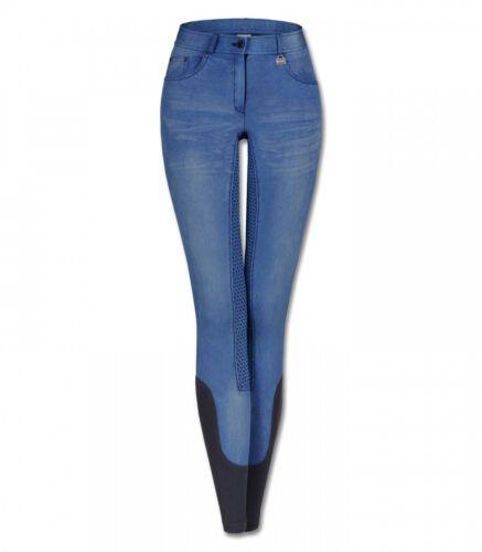 Enfants Jeans reithose silicone-vollbesatz Hope monde Bleu Nouveau