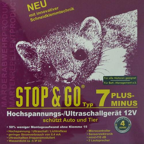 Stop /& Go Hochspannungsgerät Neu mit Schneidklemmtechnik SKT Typ 7 PM 07571