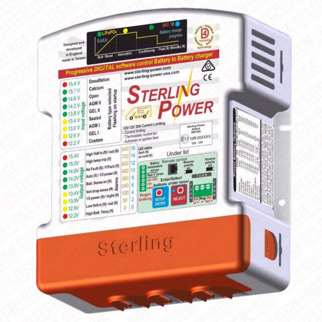 Sterling Power Automatic 24v to 12v Battery to Battery Charger 25amp BBW2412