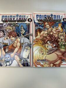 Fairy-Tail-100-Years-Quest-Vol-2-amp-3-Manga-Books-Hiro-Mashima