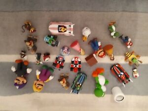 Nintendo/ Mario, Luigi, donkey kong Figure Bundle toy yoshi joblot cake toppers