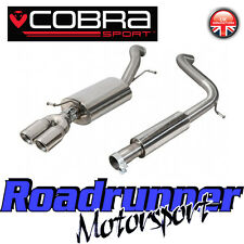 VW66 Cobra Sport Polo GTi 1.8 TSi Cat Back Exhaust System Stainless Resonated 6C